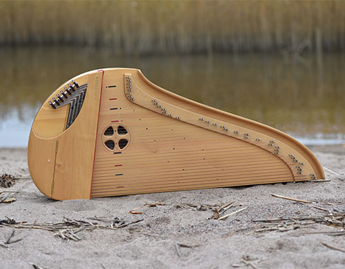 The Kantele Is National Instrument Of Finland And A Symbol Identity Often Depicted In Romantic Art Its Not Closely Related To